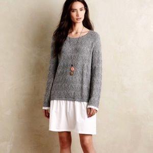 {Anthro} sparrow sweater dress Miora tunic